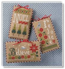 lizzie kate s105 ornaments cross stitch patterns