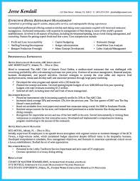 resume of manager operations restaurant general manager job description resume resume for study