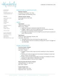 See Resume How To Create The Perfect Yoga Teacher Resume The Yoga Nomads