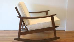 Mid Century Modern Rocking Chair Mid Century Modern Rocking Chair Picked Vintage