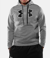 men u0027s armour fleece big logo hoodie under armour us