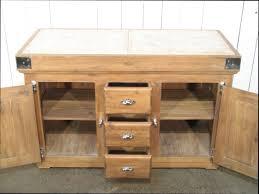 meuble cuisine meuble billot de cuisine