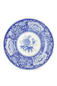 spode blue room set of 6 georgian plates with free shipping new