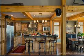 timber frame home interiors timber framing in non vaulted spaces
