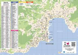Corsica Map Ajaccio Maps Corsica France Maps Of Ajaccio