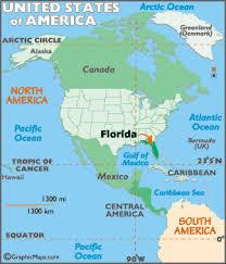 map usa florida map of florida large color map