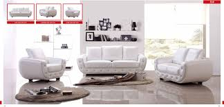Beautiful White Living Room Furniture Contemporary Room Design - Living room furniture set names
