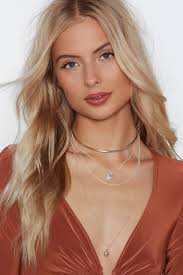 choker necklace layered images A girl 39 s got layered choker necklace shop clothes at nasty gal