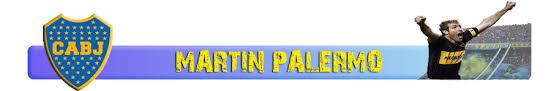 Homenaje a Martin Palermo.