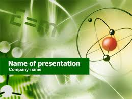 basic physics presentation template for powerpoint and keynote