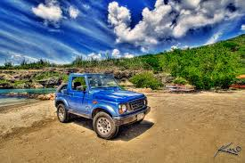 jeep blue blue jeep from curacao