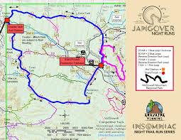Phx Airport Map Insomniac Night Trail Runs Jangover