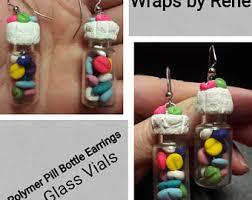 chemist earrings pharmacy earrings etsy