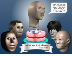 special meme fresh birthday 100k likes thank you everyone for liking