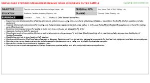 beautiful stewardess resume sample images simple resume office