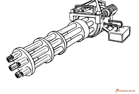 coloring pages fascinating gun coloring pictures template 6