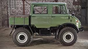 mercedes truck unimog you won t believe this beautiful unimog is nearly four decades