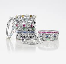 birthstone stackable rings for cool stackable birthstone rings 64 about remodel diamond