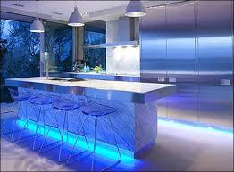 Led For Kitchen Lighting Apartment Sophisticated Kitchen Lighting Design Apply Blue Led