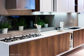 kitchen design walnut worktop shaker cream gloss ideas
