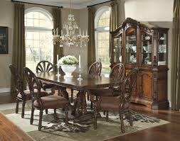 chinese rosewood dining room set dining table with china cabinet