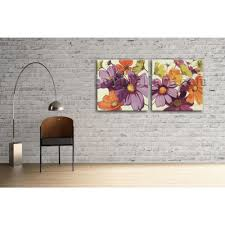 Bedroom Wall Canvases Large Oil Canvas Modern Abstract Floral Painting Bedroom Wall Art