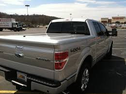 Ford F 150 Truck Bed Cover - hard painted tonneau cover by undercover rivetville