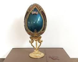 decorative eggs that open decorative egg etsy