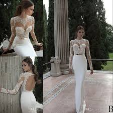 cheap bridal gowns 2017 vestido de noiva berta mermaid wedding dresses cheap