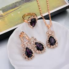 wedding gift jewelry hot sale wedding gift jewelry water drop shape earrings