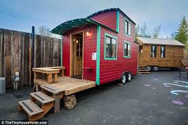 miniature homes inside america s first tiny house hotel daily mail online