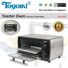 Toaster Oven Set Qoo10 Toyomi Toaster Oven With Stainless Steel Body 9 0l Model