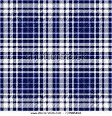 Scotch Plaid Seamless Tartan Plaid Pattern Checkered Fabric Stock Vector