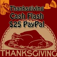thanksgiving flash for 4 hours only