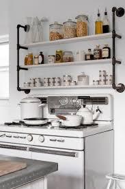 kitchenshelves com kitchen industrial shelving with pipes pipe shelf unit black