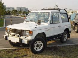 mitsubishi pajero 1996 1985 mitsubishi pajero 1 generation canvas top off road 2d