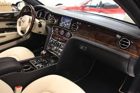 bentley mulsanne black interior used 2016 bentley mulsanne stock p3059 ultra luxury car from