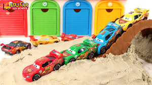 learning color number special disney pixar cars lightning mcqueen