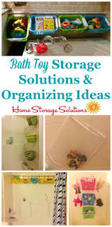 Bathroom Organizers Ideas by Bath Toy Storage U0026 Organization Ideas
