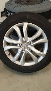 Audi Q5 5 Spoke Wheels - what are the 21