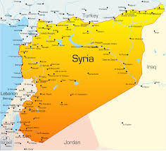 map of syria syria map with cities blank outline map of syria