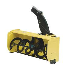 john deere 44 in snow blower attachment for 100 series tractors