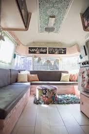 Caravan Interior Storage Solutions Van Grrrl Pinterest Bus Conversion Pinterest Vans Van