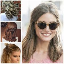 half up half down hairstyle 2017 haircuts hairstyles and hair