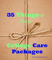 college care packages 35 things to put in college care packages budget friendly