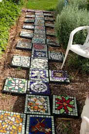 decorative stepping stones iron