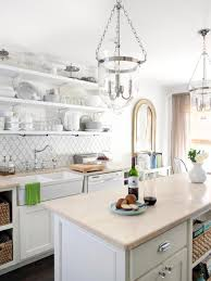 cottage inspired family kitchen milk and honey home hgtv rustic breakfast area