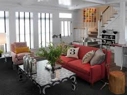 Living Room With Red Sofa by 50 Living Room Color Ideas For Your Personal Style
