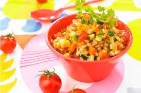 recette de cuisine pour bébé epeautre aux petits légumes recette cuisine de bébé