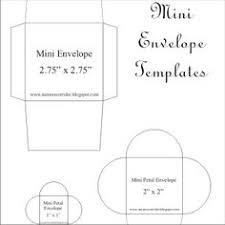 printable mini envelope template free printable mini envelope templates and liners free printable